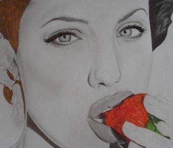 Angelina Jolie by oliversportraits